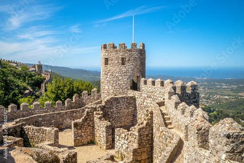 Photo Castle of the Moors at Sintra, Portugal