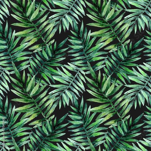 akwarela-bezszwowe-wzor-z-tropikalnych-lisci-egzotyczny-swiezy-wzor-odizolowywajacy-na-czarnym-tle