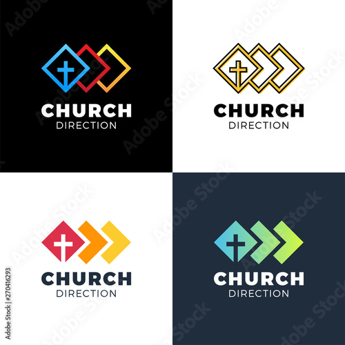 Template christian logo, emblem for school, college, seminary, church, organizat Tapéta, Fotótapéta
