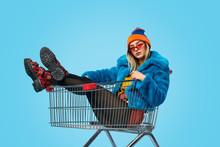 Confident Weird Female In Shop...