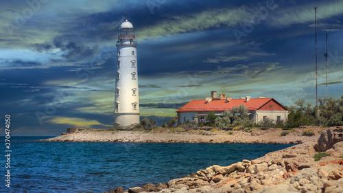 Foto op Aluminium Arctica Lighthouse of Chersonese