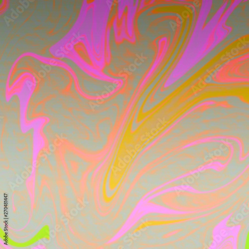 Photo Stands Psychedelic liquid abstract background with oil painting streaks
