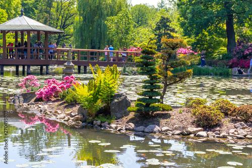 Poster Jardin Japanese garden Wroclaw