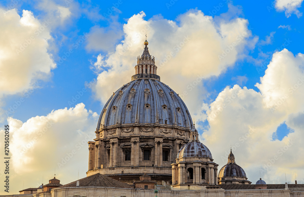 Fototapety, obrazy: St. Peter's Basilica in Rome, Italy