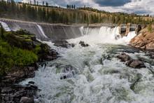 Little Falls Dam On The Spokane River.