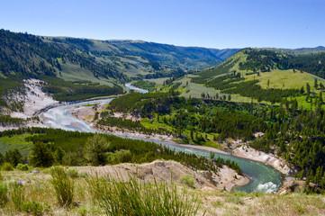 Specimen Ridge River