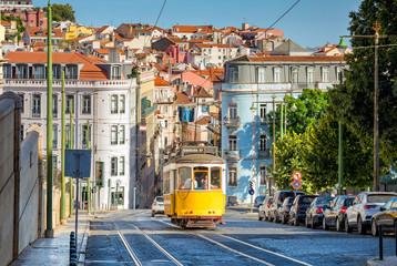 tramvaj na liniji 28 u Lisabonu, Portugal
