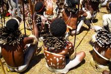 Dani People During Tribe Festi...