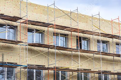 Valokuvatapetti exterior wall thermal protection