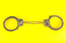 Close-up Of Handcuffs