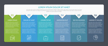 Infographic Template With 6 St...