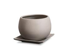 Empty Clay Flower Pot