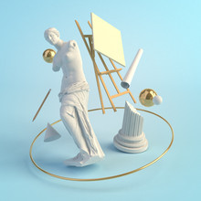 3d Illustration Concept Of The...