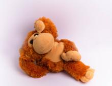 Funny Ginger Plush Monkey
