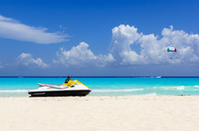 Jetski On The Beach Of Holiday...