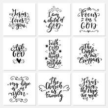 Religions Lettering. Modern Le...
