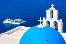 Santorini, Greece Iconic View ...