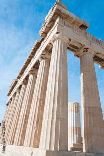 Photo The Parthenon temple, Athens, Greece