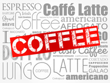 List Of Coffee Drinks Words Cl...