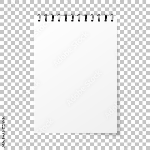 Photo Notebook mockup