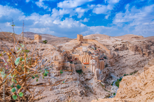 Photographie Holy Lavra of Saint Sabbas the Sanctified, known in Arabic as Mar Saba