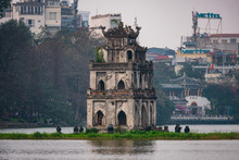 Hoàn Kiếm Lake In Hanoi, Vi...