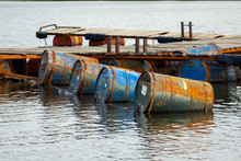 Dumped Oil Drums Cause Polluti...