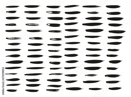 Papel de parede  Calligraphy Paint Thin Brush Lines High Detail Abstract Vector Background Set 10