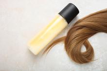 Female Light Brown Hair And Hair Spray