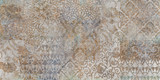 tło kwiatowy, patchwork - 270604419