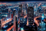 Dubai cityscape with the famous Sheikh Zayed Road