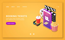 Booking Movie Tickets Using A Mobile Application.