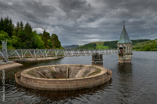 An image of Pontsticill reservoir on the Brecon Beacons national park Poster Mural XXL