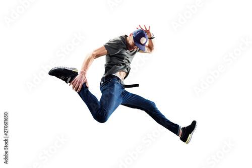 Fotografía  Isolated male Hip Hop Dancer
