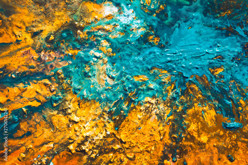 Abstract acrylic oil paint background Wallpaper Mural