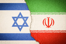 Concept Of Conflict Between Israel And Iran