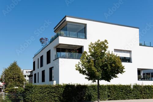 Haus Wohnhaus Modern Energiesparhaus Sonnenenergie Neu