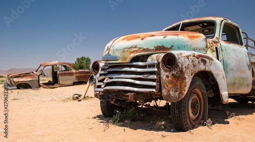 Papiers peints Route 66 Old car on Route 66