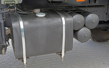 Fuel Tank Of A Military Truck Vehicle