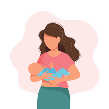 Breastfeeding Illustration, Mo...