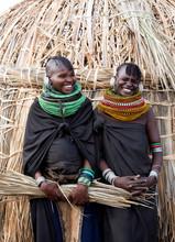 Women From Turkana Tribe.