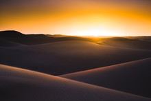Sunset Desert Landscape