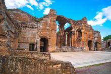Hadrian S Villa In  Tivoli - Near Rome - Archaeological Landmark In Italy