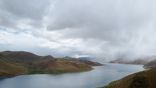 Yamdrok Lake In Tibet,China
