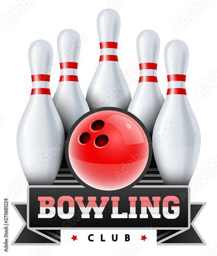 Bowling club Canvas Print