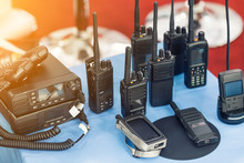 Many Portable Radio Transceive...