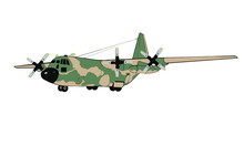 C-130 E/H Model Hercules Aircraft