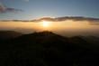 Applchain Mountain Chain Sunset