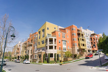 Residential Multifamily Building Situated On A Corner On Top Of Telecommunication Hill, San Jose, California