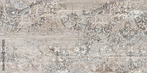 Photo sur Aluminium Cailloux texture of old wooden decorative background